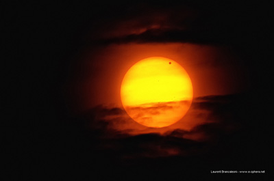 Venus Transit seen from France