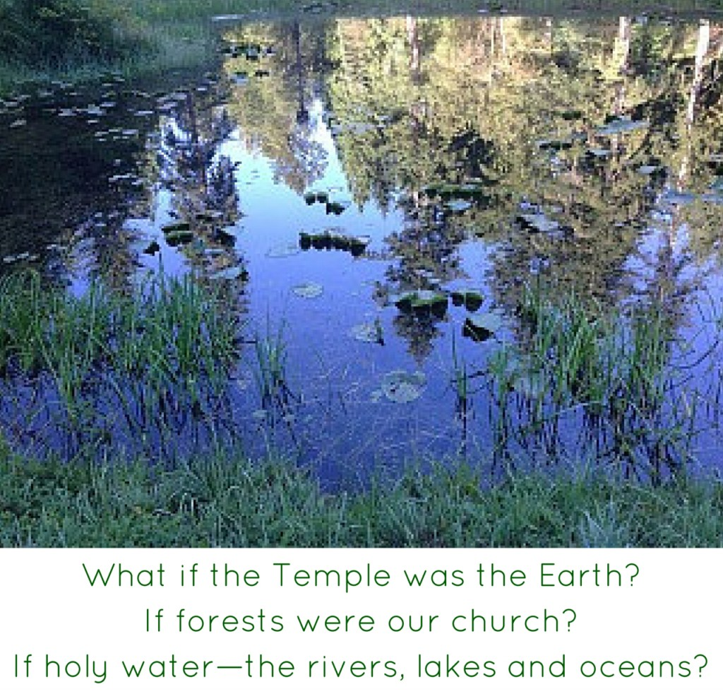 What if the Temple was the Earth?