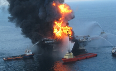 2010 Deepwater Horizon Oil Rig Disaster