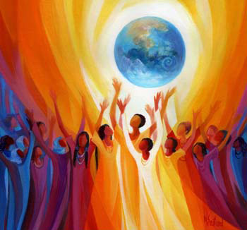 Women Singing the Earth by Mary Southard