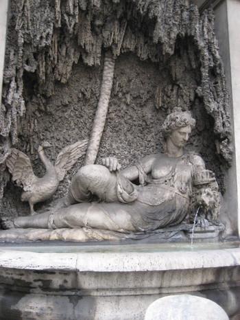 Goddess Juno - Quattro Fontane in Rome