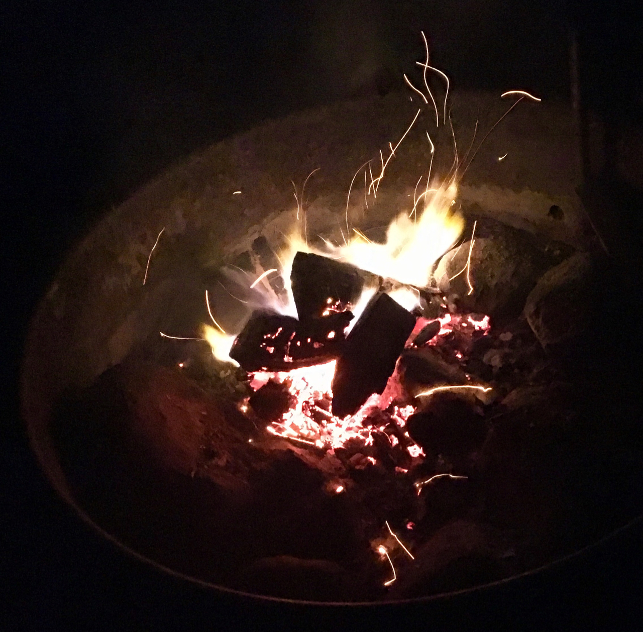 First Fire of Spring